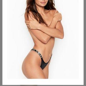 Victoria Secret logo Brazilian panty